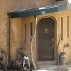 Custom entry door_stucco_Boulder_design-build